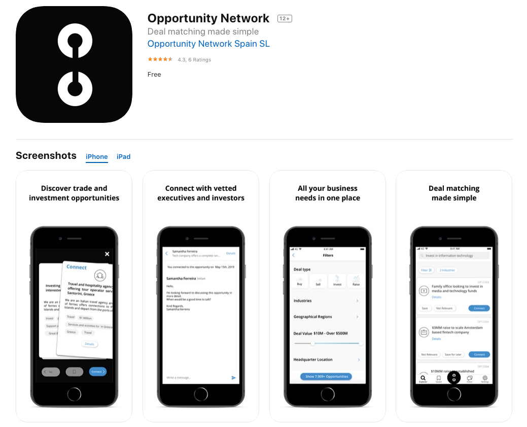 Opportunity Network iOS App